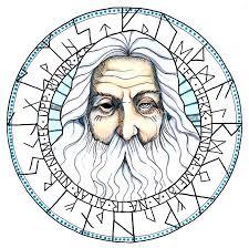 norse mythology odin by heluteg on deviantart
