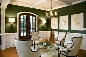 dark green paint colors dining room eclectic with green paint