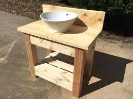 vessel sink and vanity combo wholesteadingcom farmhouse style vanity with vessel sink diy vessel
