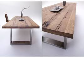 Esszimmertisch Massiv Wildeiche Tisch Haus Ideen