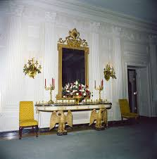 kn c19723 a christmas decorations in state dining room of white