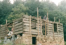 Pier Foundation House Plans Log Cabin Foundation Options Rebuilding Slave Proud Of The Work