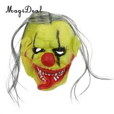 evil clown halloween mask popular creepy clown mask buy cheap creepy clown mask lots from