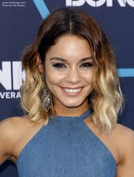 light brown hair piece vanessa hudgens brown to blonde ombré look created with a hair piece