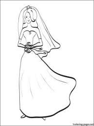 coloring pages gorgeous bride coloring pages bride coloring