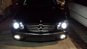 mercedes aftermarket headlights projector depo headlights installed mbworld org forums
