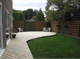 decking ideas for gardens home decking ideas curved deck in berden