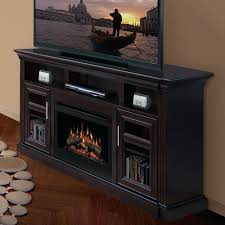 electric fireplace entertainment center menards walmart home depot