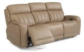 living room newport power reclining sofa leather haynes