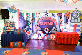 Wedding Backdrop Design Philippines A Nautical Themed Birthday Party One Charming Day