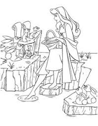 princess aurora disney coloring pages embroidery pinterest