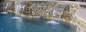 custom pool waterfalls sacramento leisure time pool service u0026 repair