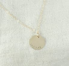 personalized charm necklaces solid 14k gold personalized initial charm necklace point