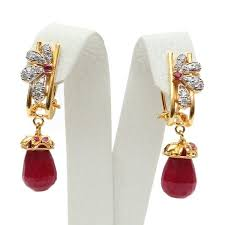 gold earrings online earrings re003 oman jewellers