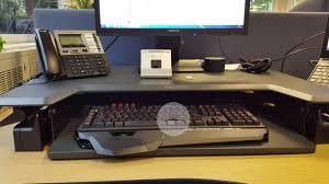 Sit Stand Desk Top Workstation by Review Ergotron Workfit T Sit Stand Workstation