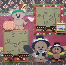 95 best thanksgiving scrapbook images on paper piecing