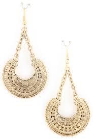crescent moon design earring earrings