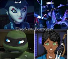 foot clan halloween costume karai shini ti and rai the new footclan by raphaellover123 on