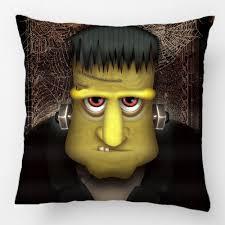Frankenstein Shower Curtain by Funny Frankenstein Halloween Costume Throw Pillow Case Decorative