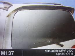mitsubishi mpv mitsubishi mpv l400 bodykit oem m137 end 5 25 2018 3 15 pm