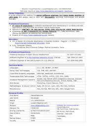 Senior Level Resume Samples by Senior Software Engineer Resume Sample Resume For Your Job