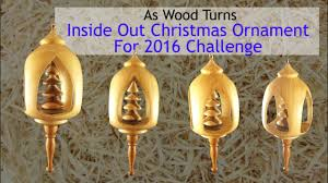 inside out christmas ornament for 2016 challenge youtube