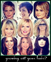 how long for hair to grow out of inverted bob how to hair girl the 10 step program for growing out short hair