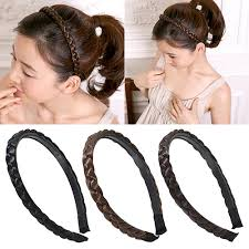 braided headband women fashion twisted wig braid hair band braided headband hair