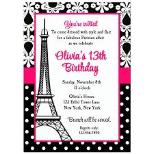 eiffel tower invitations eiffel tower party invitation by that party chicl parisian
