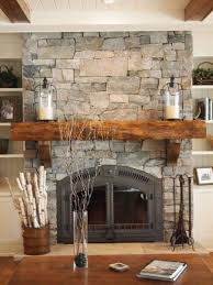 fireplace ideas with stone simply cover an existing fireplace with real thin stone natural