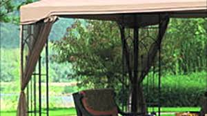 Pergola Replacement Canopy by Replacement Canopy For The Big Lots 10x12 Arrow Gazebo Youtube