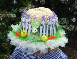 Easter Door Decorations To Make by Cool Easter Bonnet Or Hat Ideas Hative