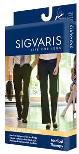 sigvaris 500 natural rubber 30 40 mmhg open toe knee highs 503c