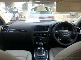 audi q5 interior 2013 breaking audi q5 facelift launched at 43 16 lakhs