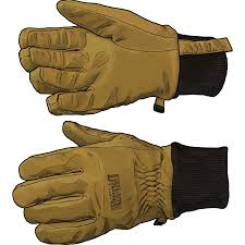 goatskin leather winter work gloves duluth trading