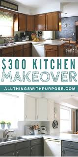 kitchen makeovers with cabinets my 300 kitchen makeover with painted cabinets 4 years later