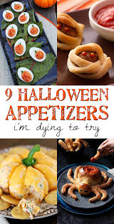 9 halloween appetizers i u0027m dying to try spooky little halloween