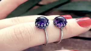 amethyst stone rings images Know the miraculous effects of amethyst stone gemsvidhi medium jpeg