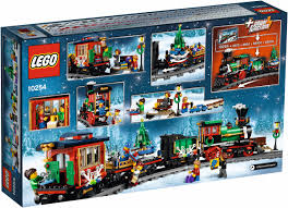 lego reveals its latest christmas train set winter holiday