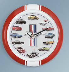 different mustang models ford mustang clock growls like a different model at the top of