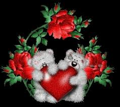 roses and hearts of roses and hearts