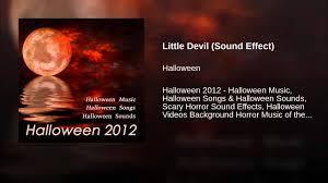 devil halloween background little devil sound effect youtube