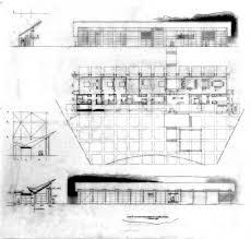 House Architecture Drawing Neugebauer House U2013 Richard Meier U0026 Partners Architects