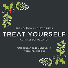 purchase gift cards online spend 100 in gift cards get a 25 bonus card carlyle grill