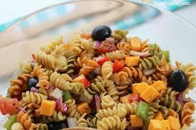 recipes for pasta salad pasta salad with balsamic vinaigrette recipe cincyshopper