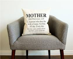 definition of mother pillow mother u0027s day gift gift for her