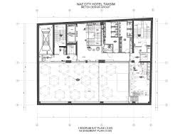 Vacation House Floor Plans Gallery Of Naz City Hotel Taksim Metex Design Group 36