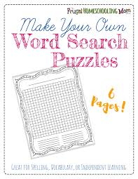 make own word search free make your own printable wordsearch puzzles the frugal