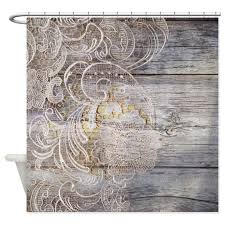 Country Chic Shower Curtains Shabby Chic Shower Curtains Cafepress