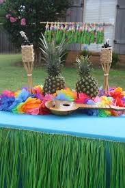 how to plan luau theme lights etc